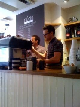 Nude Espresso, Hanbury Street
