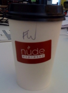 Yummy Flat White from Nude Espresso